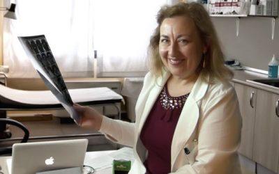 La Dra. Martínez Galarreta, Máster Universitario en Ecografía Músculoesquelética