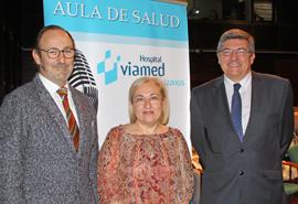 Conferencia en el Aula de Salud de Viamed-Los Manzanos