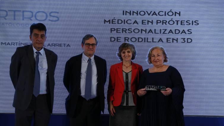 María Victoria Martínez: innovación médica en prótesis personalizadas de rodilla 3d